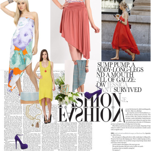 Beat the Heat in Asymmetrical Hemlines