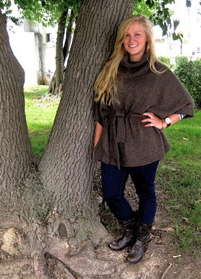 STYLE ADVICE OF THE WEEK :  Head Poncho