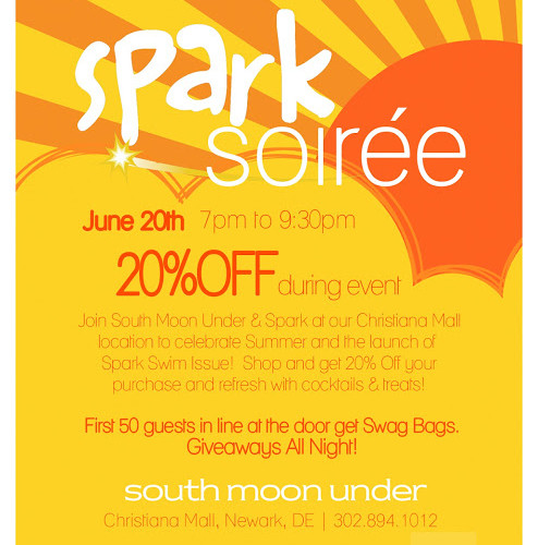 South Moon Under Event At The Christiana Mall!