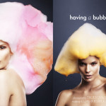 A Bubbly Editorial In Used Magazine