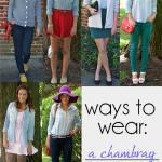 Ways To Wear: A Chambray Shirt