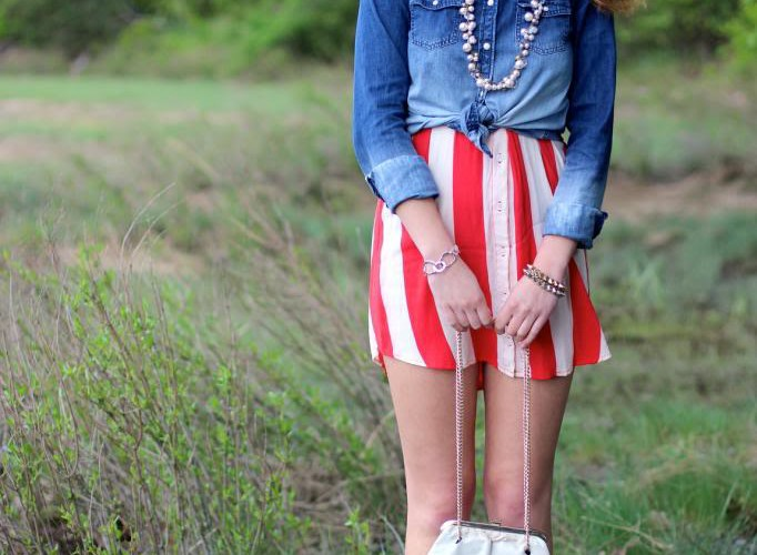 Memorial Day Style: Chambray and Stripes
