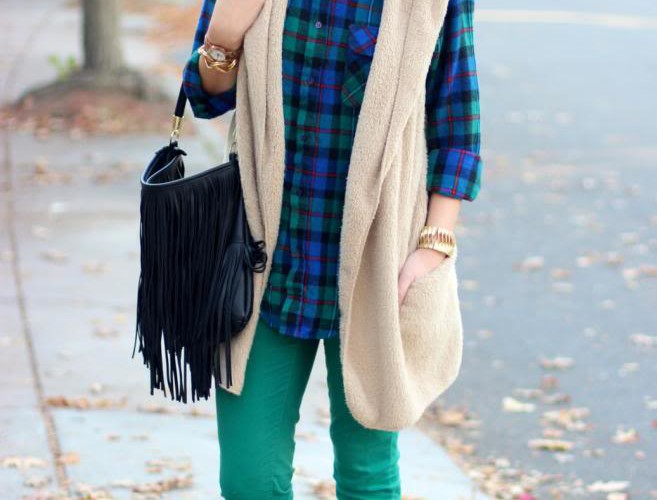 Flannel + Fur