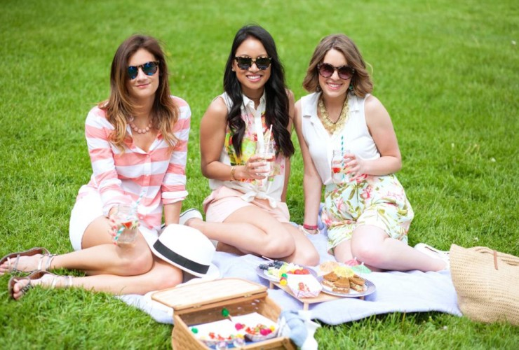 Summer Picnic In The Park