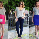 Ways To Wear: A Basic V-Neck Tee