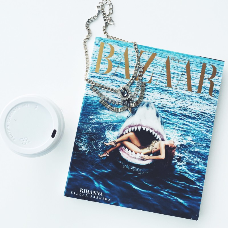 Harper's Bazaar shark cover