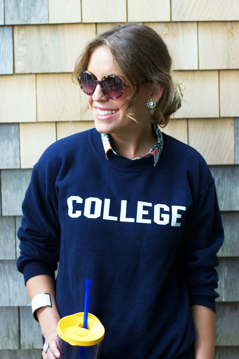 college sweatshirt animal house