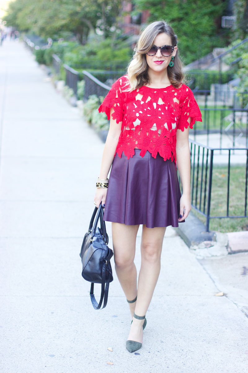 Early fall date night look | Style Tab