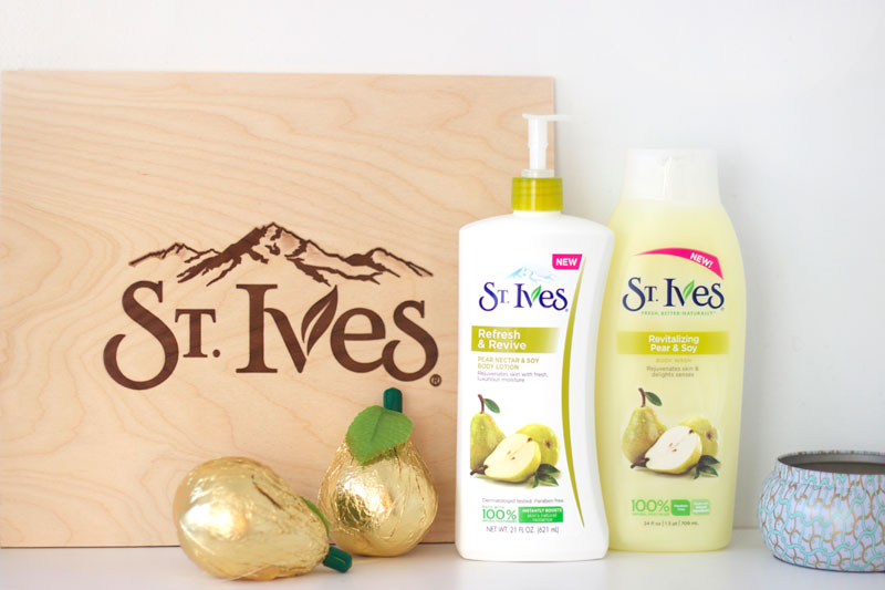St. Ives Refresh & Revive Pear Nectar review