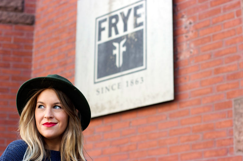 Frye boston newbury st