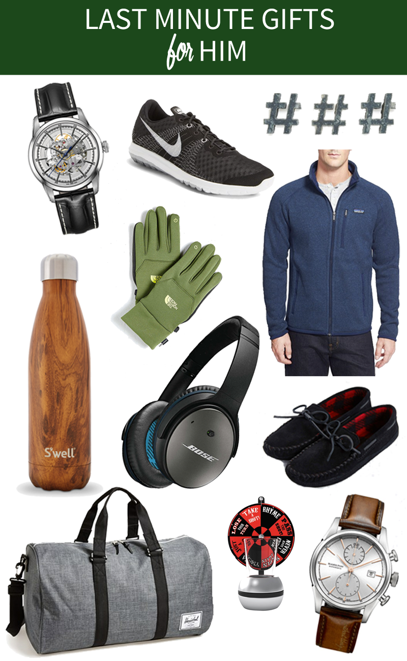 Last Minute Gifts For Men