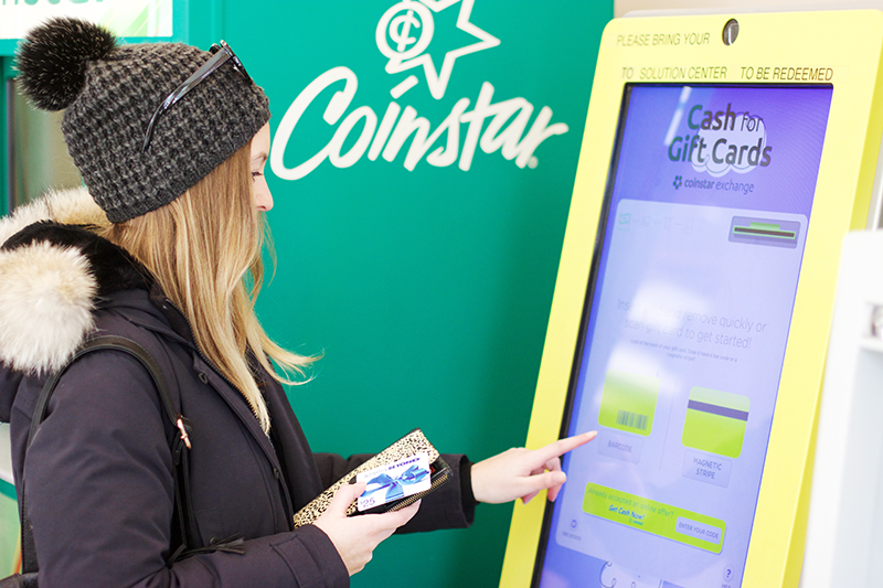 How to use Coinstar Exchange