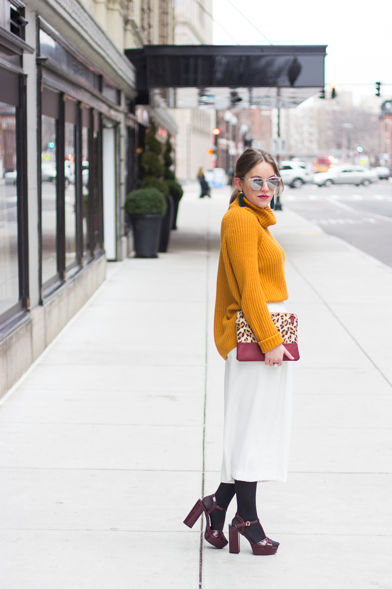 Winter white outfit - Winter White Culottes