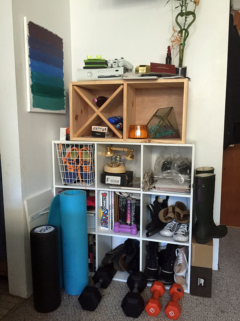storage area before