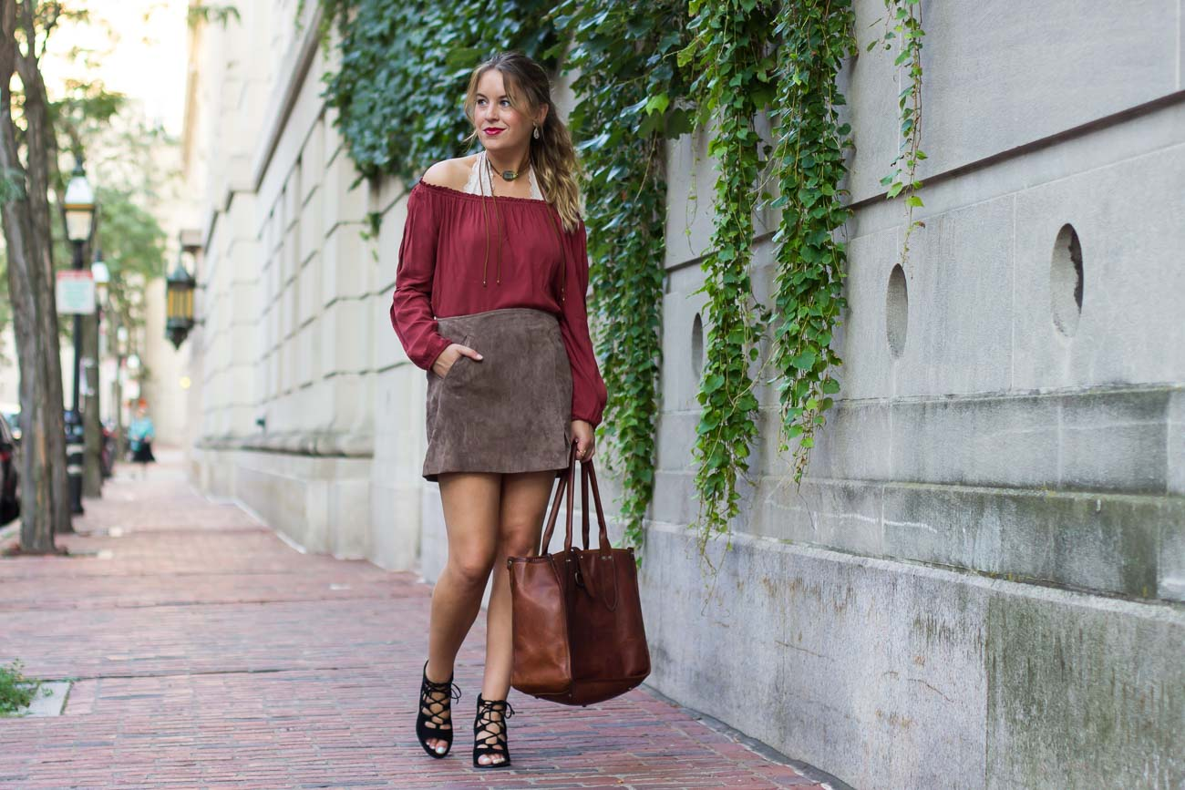 Fall trend: Off the shoulder