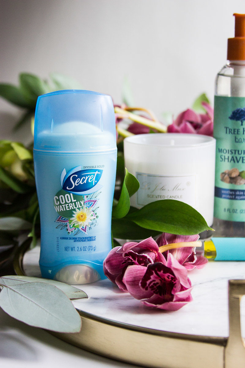 My favorite winter products for staying fresh in winter with Secret Fresh Scents Deodorant